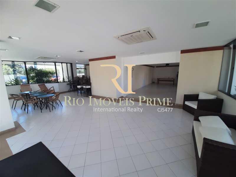 SALÃO DE FESTAS - Apartamento 3 quartos à venda Recreio dos Bandeirantes, Rio de Janeiro - R$ 600.000 - RPAP30142 - 22