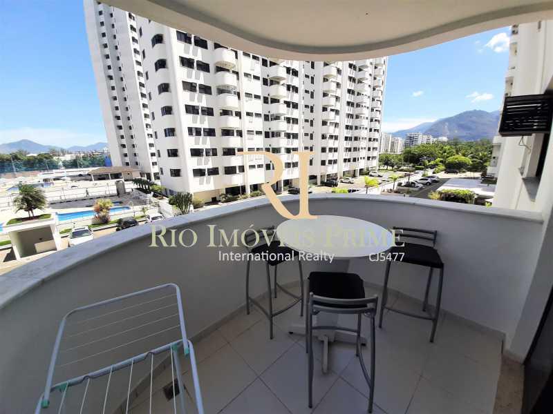VARANDA - Apartamento 3 quartos à venda Recreio dos Bandeirantes, Rio de Janeiro - R$ 600.000 - RPAP30142 - 3