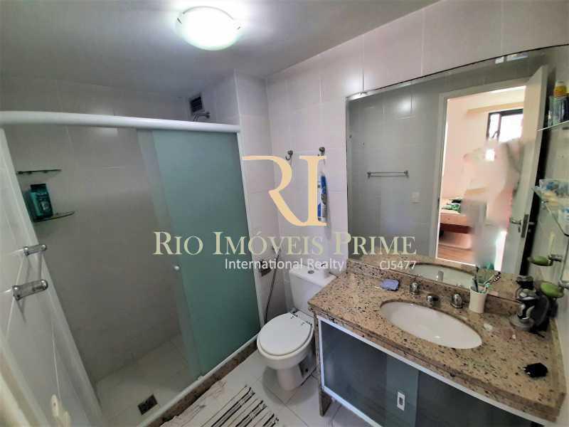 BANHEIRO SUÍTE - Apartamento 3 quartos à venda Recreio dos Bandeirantes, Rio de Janeiro - R$ 600.000 - RPAP30142 - 8