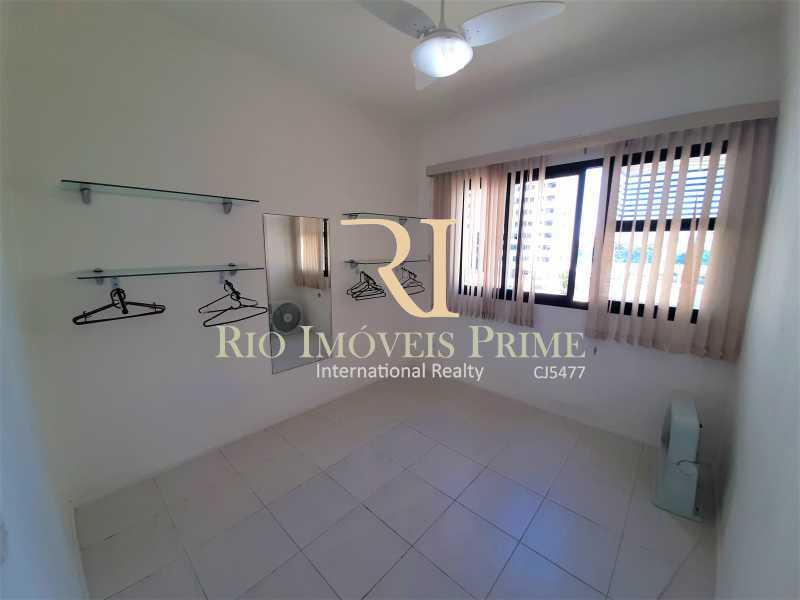 QUARTO2 - Apartamento 3 quartos à venda Recreio dos Bandeirantes, Rio de Janeiro - R$ 600.000 - RPAP30142 - 9