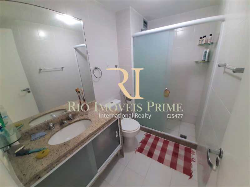 BANHEIRO SOCIAL - Apartamento 3 quartos à venda Recreio dos Bandeirantes, Rio de Janeiro - R$ 600.000 - RPAP30142 - 11
