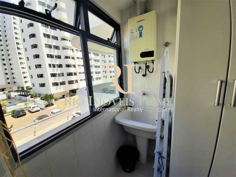 ÁREA SERVIÇO - Apartamento 3 quartos à venda Recreio dos Bandeirantes, Rio de Janeiro - R$ 600.000 - RPAP30142 - 14