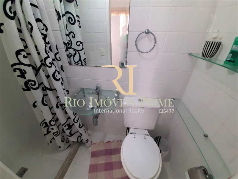 BANHEIRO SERVIÇO - Apartamento 3 quartos à venda Recreio dos Bandeirantes, Rio de Janeiro - R$ 600.000 - RPAP30142 - 16