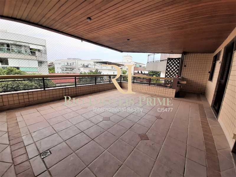 VARANDÃO - Apartamento à venda Rua Professor Nehemias Gueiros,Recreio dos Bandeirantes, Rio de Janeiro - R$ 630.000 - RPAP20233 - 1