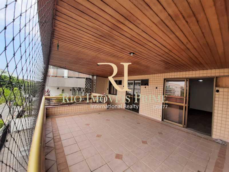 VARANDÃO - Apartamento à venda Rua Professor Nehemias Gueiros,Recreio dos Bandeirantes, Rio de Janeiro - R$ 630.000 - RPAP20233 - 3
