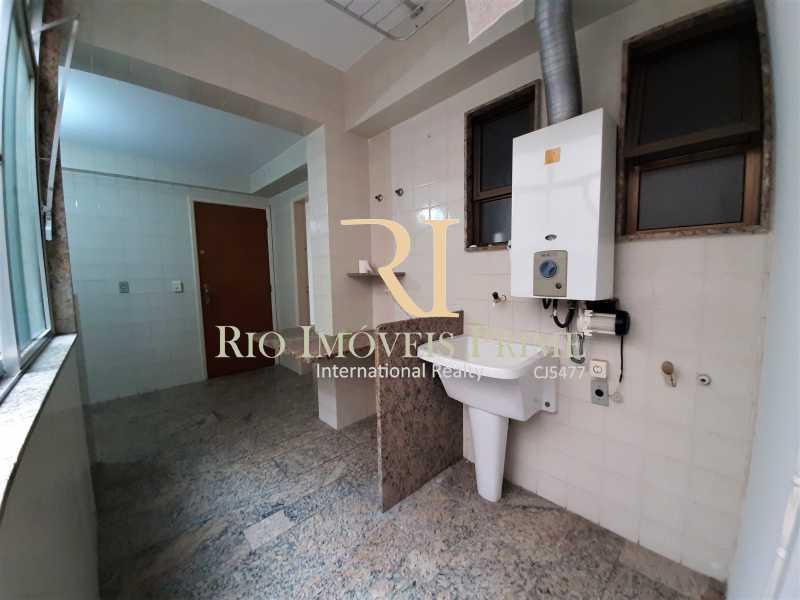 ÁREA DE SERVIÇO - Apartamento à venda Rua Professor Nehemias Gueiros,Recreio dos Bandeirantes, Rio de Janeiro - R$ 630.000 - RPAP20233 - 15