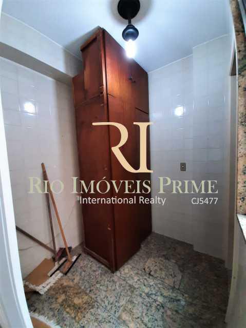 QUARTO DE SERVIÇO - Apartamento à venda Rua Professor Nehemias Gueiros,Recreio dos Bandeirantes, Rio de Janeiro - R$ 630.000 - RPAP20233 - 16