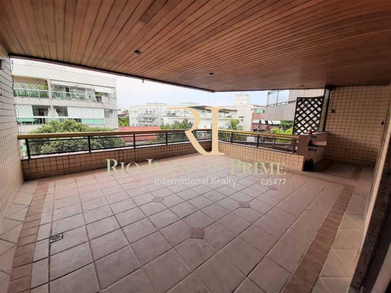 VARANDÃO - Apartamento à venda Rua Professor Nehemias Gueiros,Recreio dos Bandeirantes, Rio de Janeiro - R$ 630.000 - RPAP20233 - 23