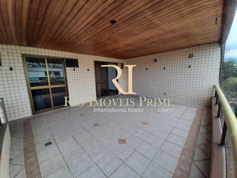 VARANDÃO - Apartamento à venda Rua Professor Nehemias Gueiros,Recreio dos Bandeirantes, Rio de Janeiro - R$ 630.000 - RPAP20233 - 24