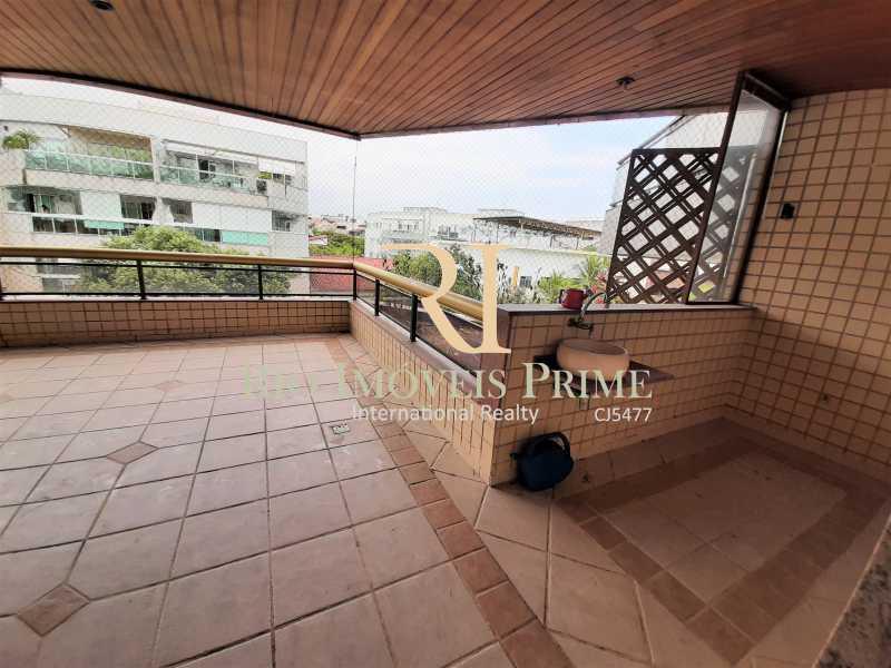 VARANDÃO - Apartamento à venda Rua Professor Nehemias Gueiros,Recreio dos Bandeirantes, Rio de Janeiro - R$ 630.000 - RPAP20233 - 25