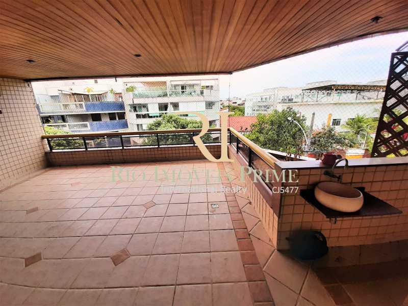 VARANDÃO - Apartamento à venda Rua Professor Nehemias Gueiros,Recreio dos Bandeirantes, Rio de Janeiro - R$ 630.000 - RPAP20233 - 26