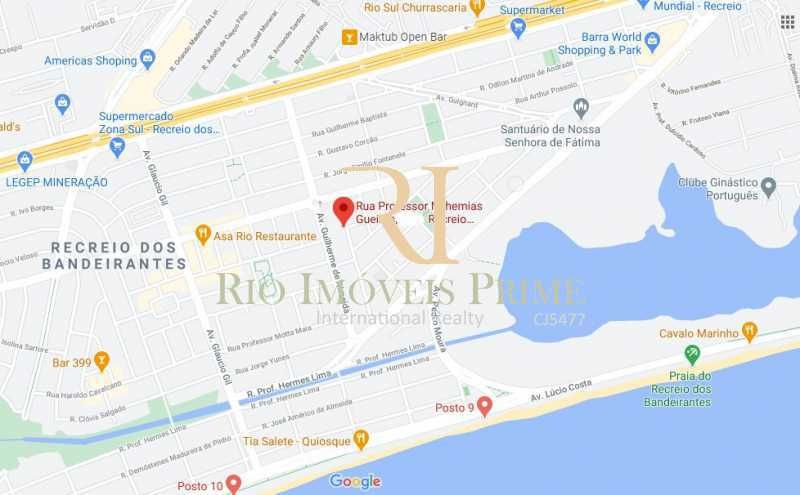 LOCALIZAÇÃO - Apartamento à venda Rua Professor Nehemias Gueiros,Recreio dos Bandeirantes, Rio de Janeiro - R$ 630.000 - RPAP20233 - 29