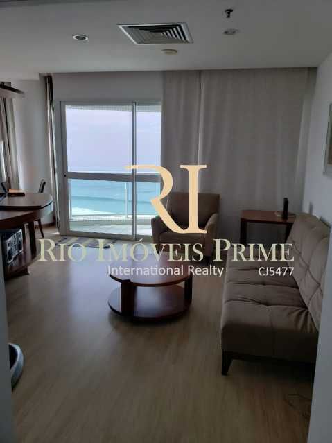 SALA. - Flat 2 quartos à venda Barra da Tijuca, Rio de Janeiro - R$ 1.999.900 - RPFL20038 - 8