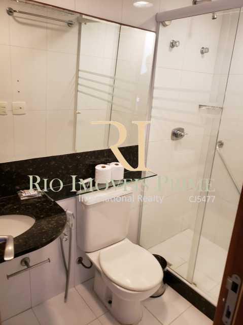 BANHEIRO SUÍTE2. - Flat 2 quartos à venda Barra da Tijuca, Rio de Janeiro - R$ 1.999.900 - RPFL20038 - 18