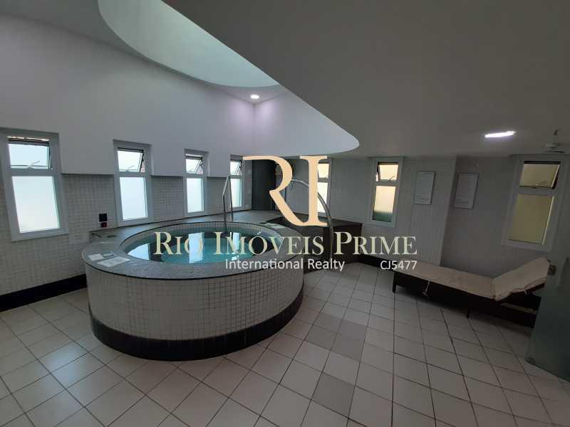 JACUZZI - Flat 1 quarto à venda Barra da Tijuca, Rio de Janeiro - R$ 849.900 - RPFL10106 - 17