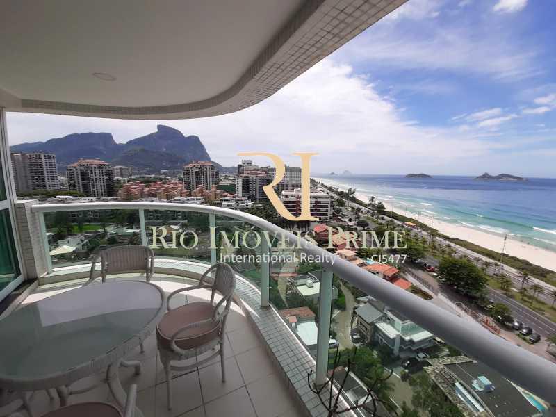 VARANDA - Flat 1 quarto à venda Barra da Tijuca, Rio de Janeiro - R$ 849.900 - RPFL10106 - 1