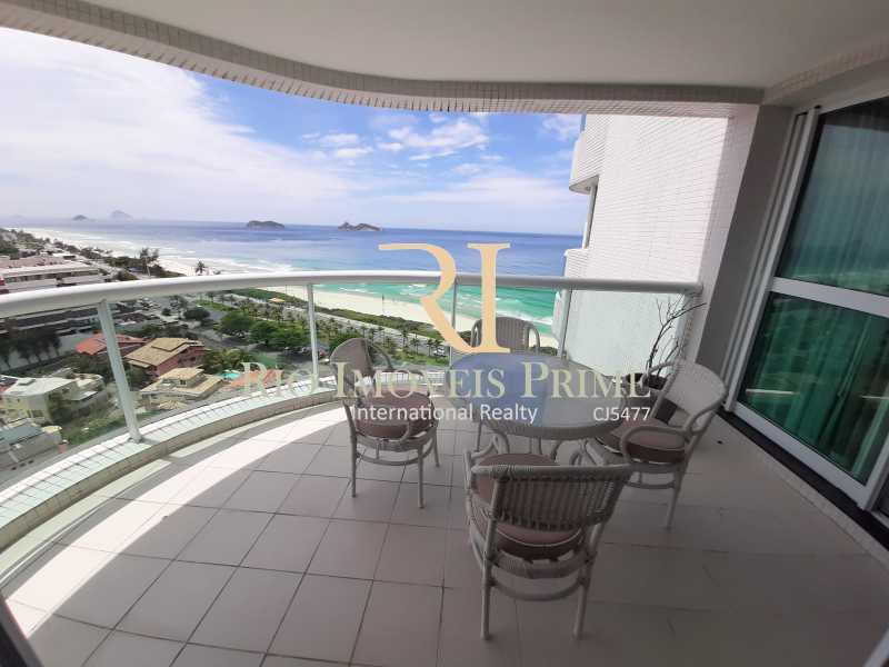 VARANDA - Flat 1 quarto à venda Barra da Tijuca, Rio de Janeiro - R$ 849.900 - RPFL10106 - 3