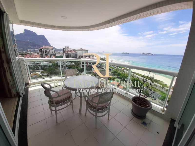 VARANDA - Flat 1 quarto à venda Barra da Tijuca, Rio de Janeiro - R$ 849.900 - RPFL10106 - 4