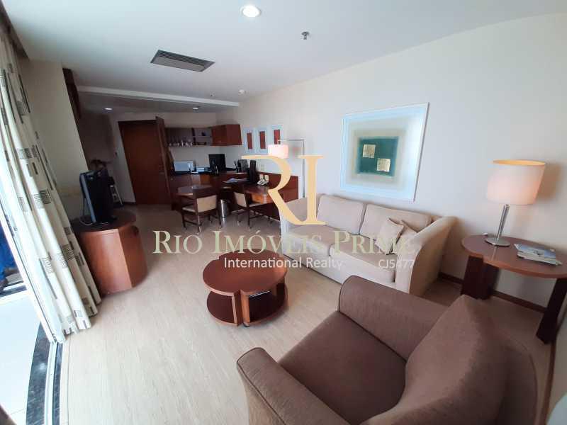 SALA - Flat 1 quarto à venda Barra da Tijuca, Rio de Janeiro - R$ 849.900 - RPFL10106 - 7