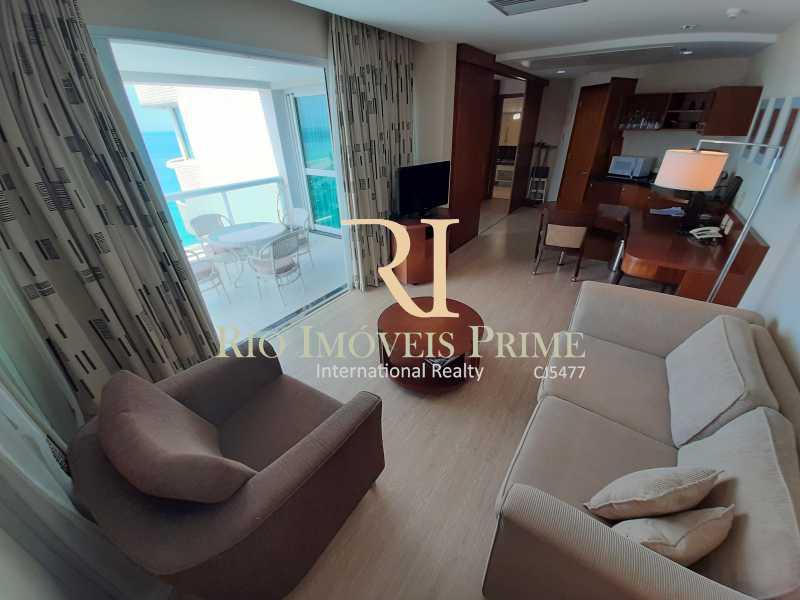 SALA - Flat 1 quarto à venda Barra da Tijuca, Rio de Janeiro - R$ 849.900 - RPFL10106 - 8