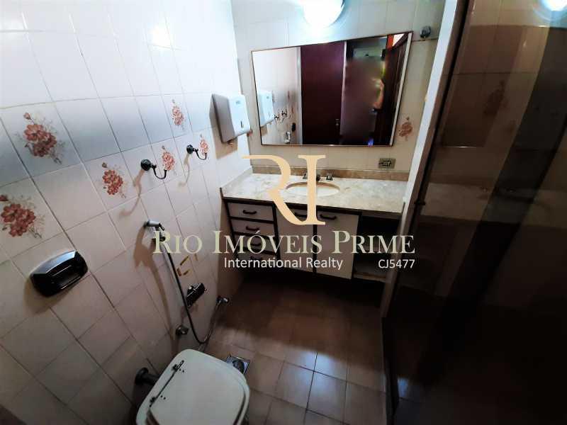 BANHEIRO SUÍTE - Apartamento à venda Rua das Laranjeiras,Laranjeiras, Rio de Janeiro - R$ 1.470.000 - RPAP30145 - 9