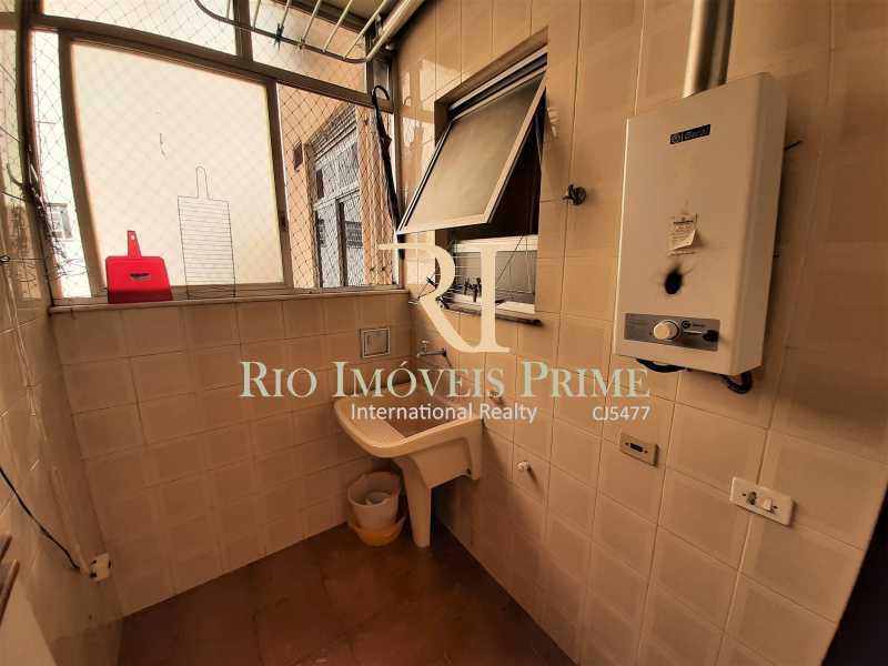 ÁREA DE SERVIÇO - Apartamento à venda Rua das Laranjeiras,Laranjeiras, Rio de Janeiro - R$ 1.470.000 - RPAP30145 - 19