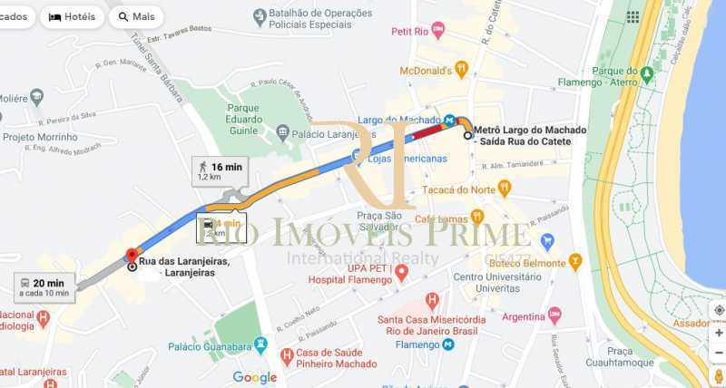 DISTÂNCIA METRÔ - Apartamento à venda Rua das Laranjeiras,Laranjeiras, Rio de Janeiro - R$ 1.470.000 - RPAP30145 - 21