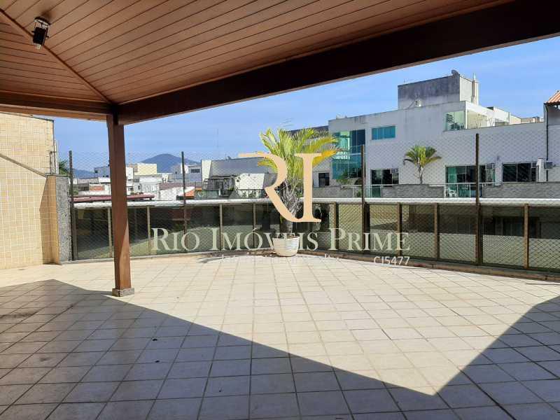 VARANDÃO. - Cobertura à venda Rua Almirante Ary Rongel,Recreio dos Bandeirantes, Rio de Janeiro - R$ 1.200.000 - RPCO30026 - 1