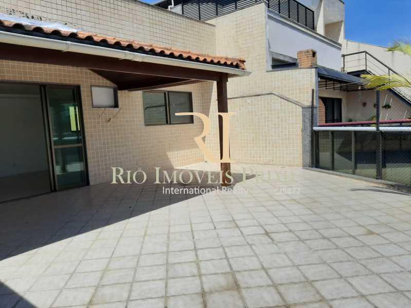 VARANDÃO. - Cobertura à venda Rua Almirante Ary Rongel,Recreio dos Bandeirantes, Rio de Janeiro - R$ 1.200.000 - RPCO30026 - 3