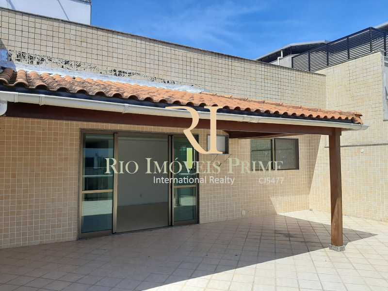 VARANDÃO. - Cobertura à venda Rua Almirante Ary Rongel,Recreio dos Bandeirantes, Rio de Janeiro - R$ 1.200.000 - RPCO30026 - 4