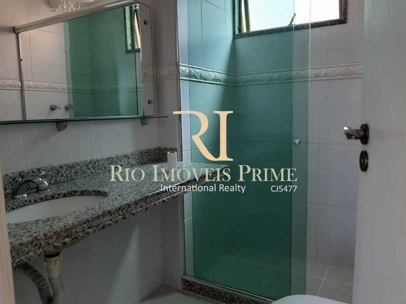 BANHEIRO SUÍTE3. - Cobertura à venda Rua Almirante Ary Rongel,Recreio dos Bandeirantes, Rio de Janeiro - R$ 1.200.000 - RPCO30026 - 18