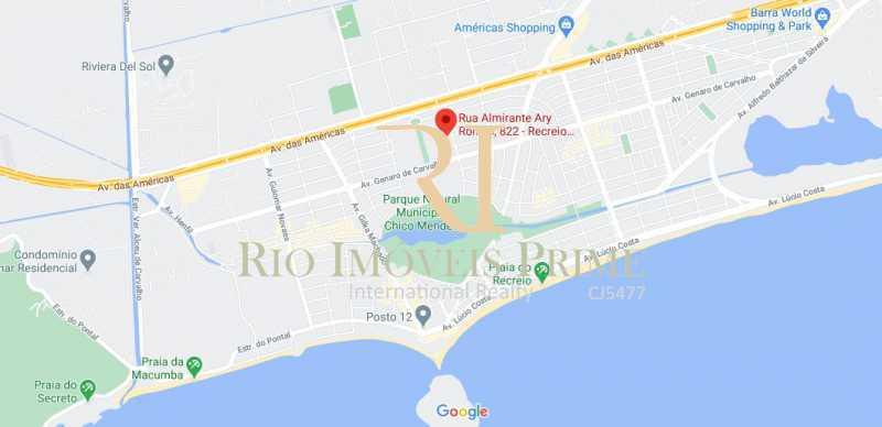 LOCALIZAÇÃO - Cobertura à venda Rua Almirante Ary Rongel,Recreio dos Bandeirantes, Rio de Janeiro - R$ 1.200.000 - RPCO30026 - 26
