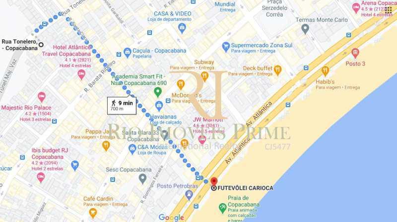 DISTÂNCIA PRAIA - Apartamento 3 quartos à venda Copacabana, Rio de Janeiro - R$ 1.650.000 - RPAP30147 - 21