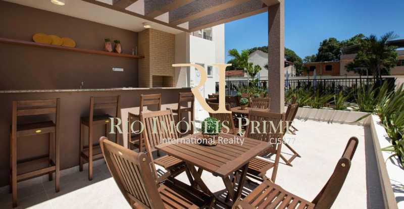 CHURRASQUEIRA - Apartamento 2 quartos para alugar Rocha, Rio de Janeiro - R$ 1.100 - RPAP20236 - 16