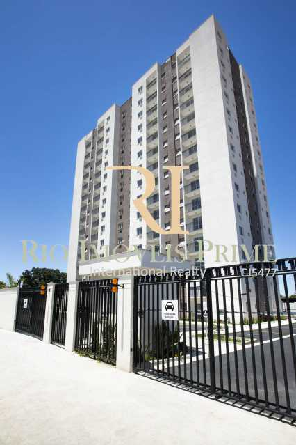ENTRADA E FACHADA - Apartamento 2 quartos para alugar Rocha, Rio de Janeiro - R$ 1.100 - RPAP20236 - 23