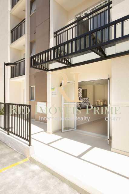 ENTRADA BLOCO - Apartamento 2 quartos para alugar Rocha, Rio de Janeiro - R$ 1.100 - RPAP20236 - 24