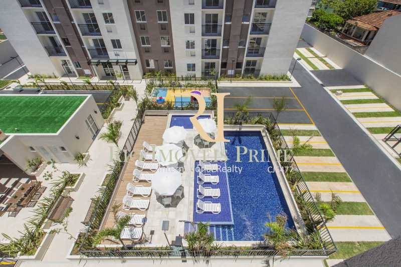 PISCINA VISTA AÉREA - Apartamento 2 quartos para alugar Rocha, Rio de Janeiro - R$ 1.100 - RPAP20236 - 27
