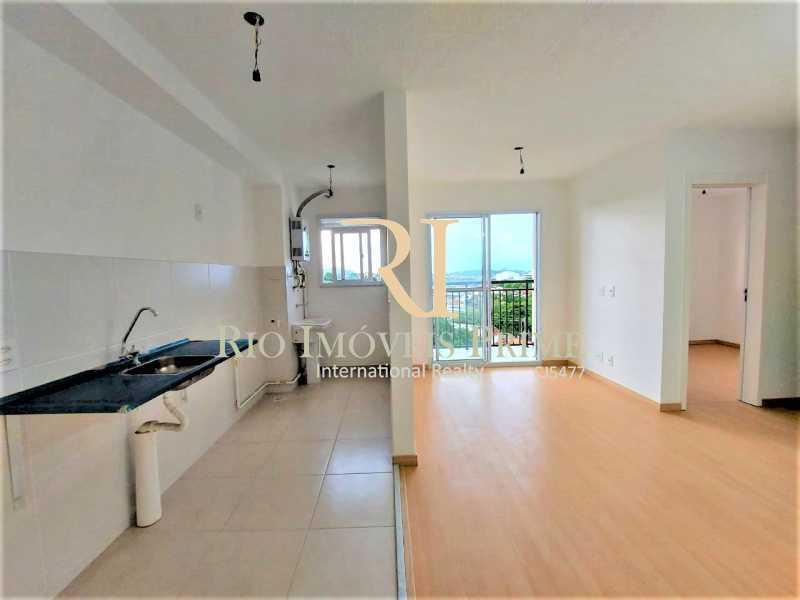 COZINHA E SALA - Apartamento 2 quartos para alugar Rocha, Rio de Janeiro - R$ 1.100 - RPAP20236 - 5