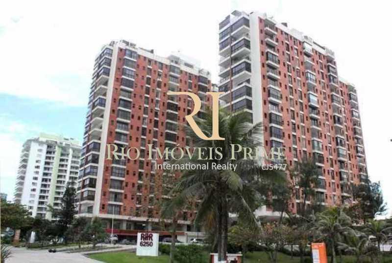 RHR - FACHADA - Flat 2 quartos à venda Barra da Tijuca, Rio de Janeiro - R$ 1.400.000 - RPFL20039 - 16