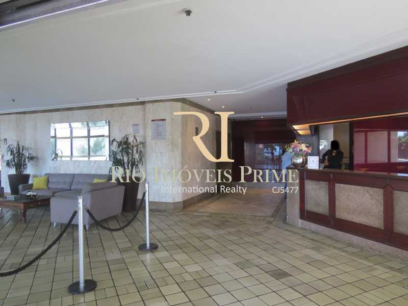 RHR - RECEPÇÃO. - Flat 2 quartos à venda Barra da Tijuca, Rio de Janeiro - R$ 1.400.000 - RPFL20039 - 23
