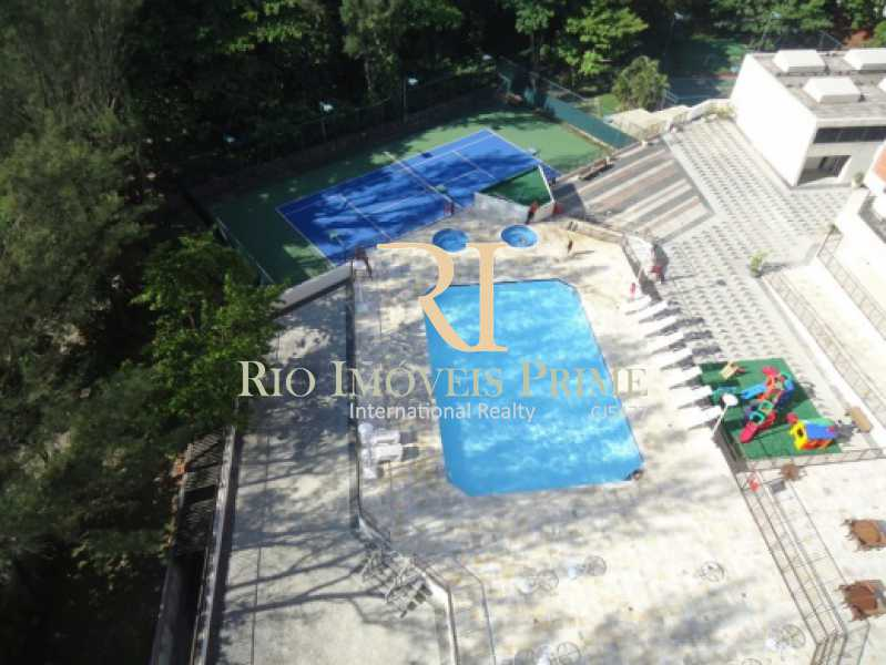 RHR - VISTA AÉREA - ÁREA LAZER - Flat 2 quartos à venda Barra da Tijuca, Rio de Janeiro - R$ 1.400.000 - RPFL20039 - 24