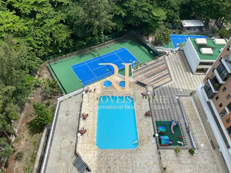 RHR - VISTA AÉREA - ÁREA LAZER - Flat 2 quartos à venda Barra da Tijuca, Rio de Janeiro - R$ 1.400.000 - RPFL20039 - 27