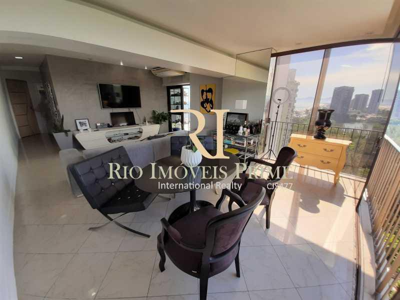 SALAS - Flat 2 quartos à venda Barra da Tijuca, Rio de Janeiro - R$ 1.400.000 - RPFL20039 - 4