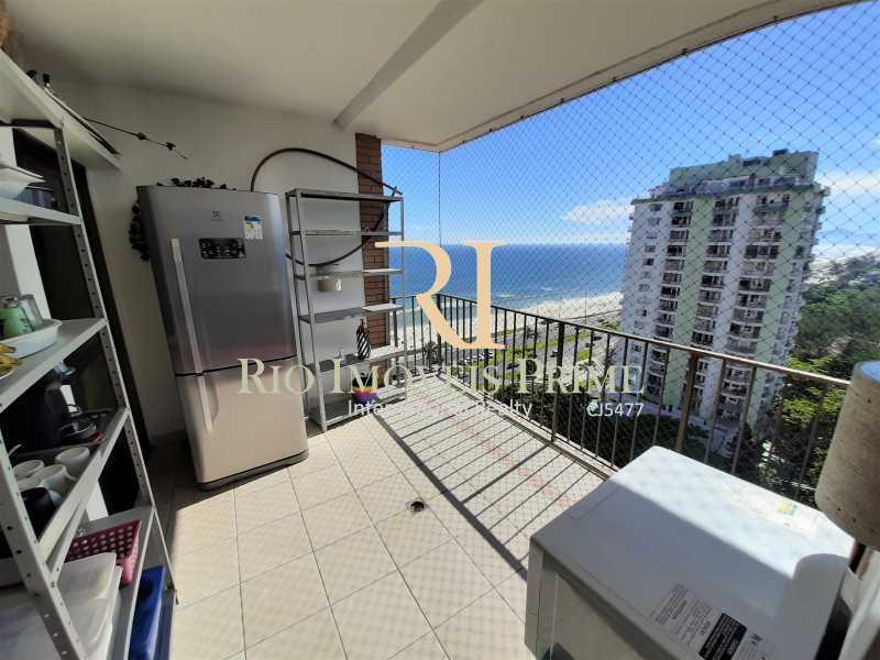 VARANDA - Flat 2 quartos à venda Barra da Tijuca, Rio de Janeiro - R$ 1.400.000 - RPFL20039 - 8