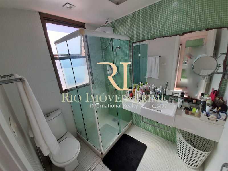 BANHEIRO SUÍTE1 - Flat 2 quartos à venda Barra da Tijuca, Rio de Janeiro - R$ 1.400.000 - RPFL20039 - 12