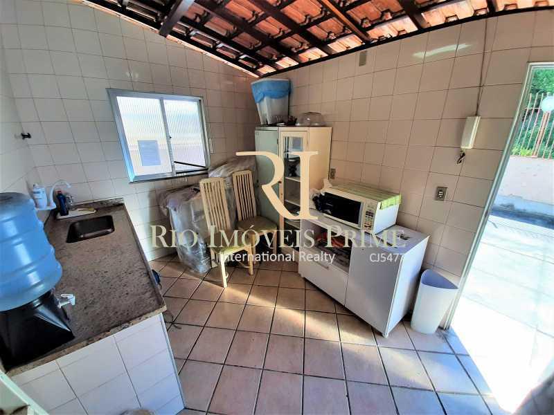 COZINHA TERRAÇO - Apartamento à venda Rua André Cavalcanti,Centro, Rio de Janeiro - R$ 419.900 - RPAP20237 - 21