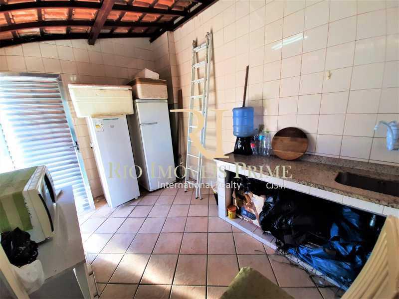 COZINHA TERRAÇO - Apartamento à venda Rua André Cavalcanti,Centro, Rio de Janeiro - R$ 419.900 - RPAP20237 - 22