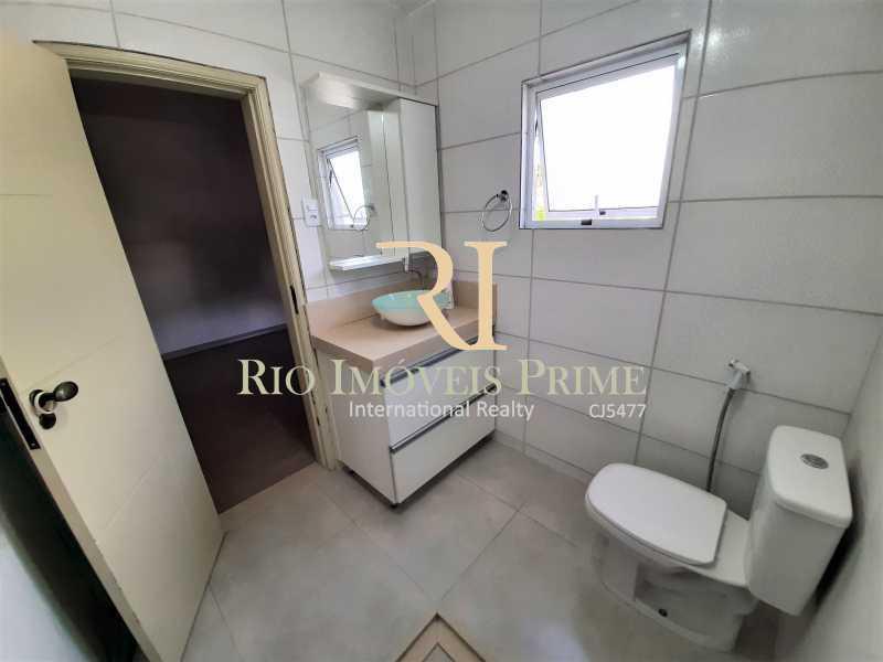 BANHEIRO SUÍTE - Casa de Vila 2 quartos para alugar Maria da Graça, Rio de Janeiro - R$ 1.600 - RPCV20004 - 17