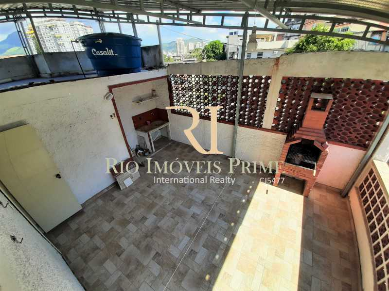 TERRAÇO - Casa de Vila 2 quartos para alugar Maria da Graça, Rio de Janeiro - R$ 1.600 - RPCV20004 - 20