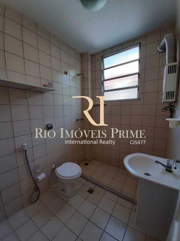 BANHEIRO SOCIAL - Apartamento para venda e aluguel Rua Engenheiro Ernani Cotrim,Tijuca, Rio de Janeiro - R$ 410.000 - RPAP20240 - 12